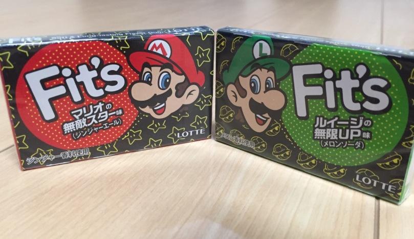 Limited Edition Super Mario Gum