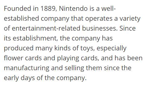 DeepL Japanese translation of Nintendo article