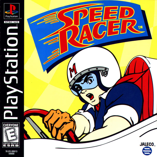 speed racer playstation box art