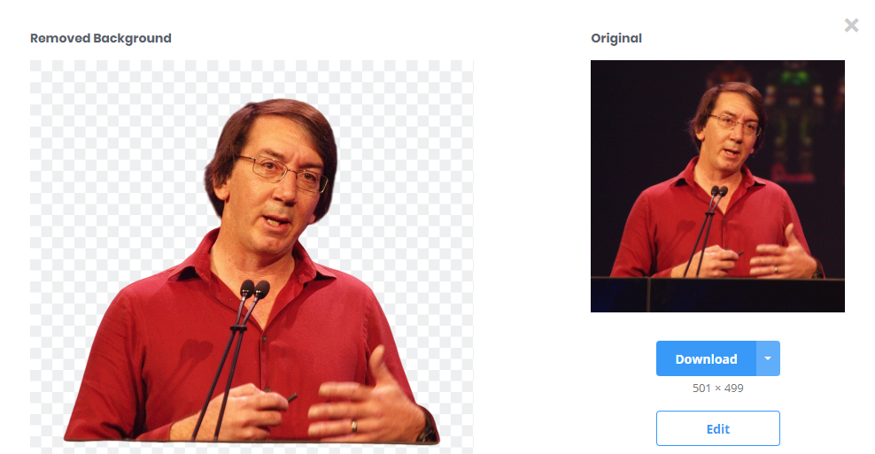 Using remove.bg to get rid of a background with Will Wright