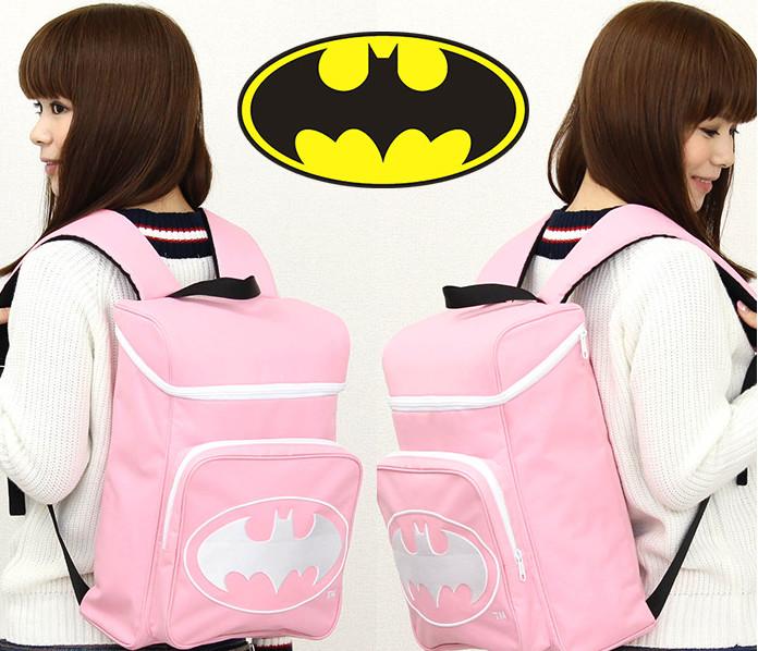 batman in japan girls bag