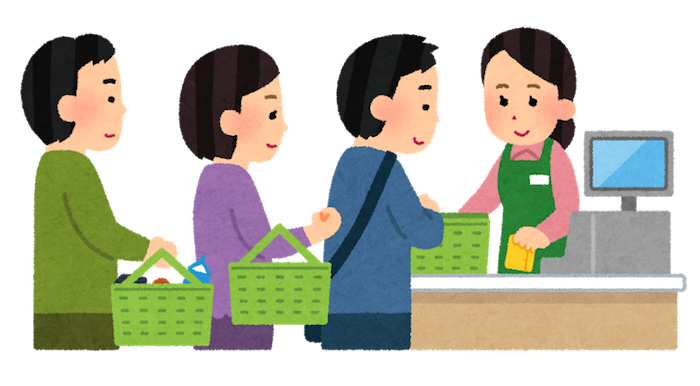 learn to read japanese signs at supermarket