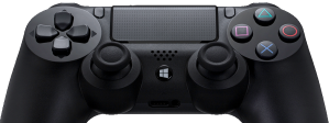 DS4Windows emulates an Xbox controller with a PS4 controller