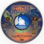 sonic adventure disc
