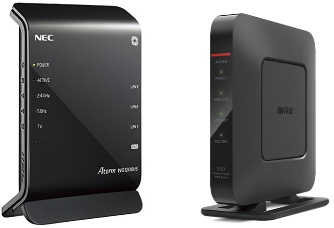 Routers for Japanese Internet
