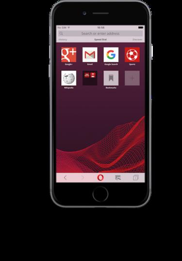 opera mini review phone