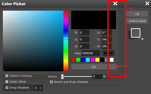 Screenshot demonstrating how the windows are difficult to discern