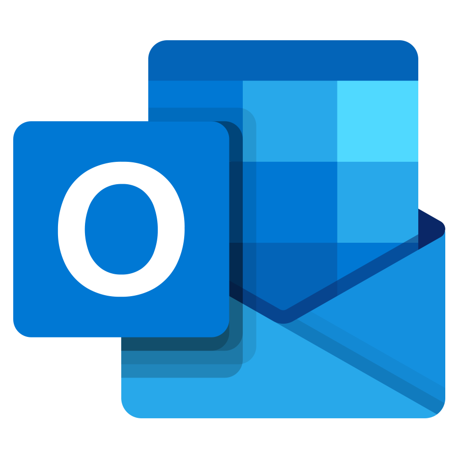 Outlook Mobile's logo as of 2018
