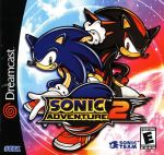dreamcast sonic adventure 2 cover
