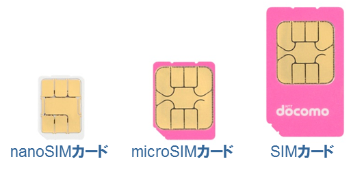 sim card sizes you need to know for switching to Japanese MVNOs
