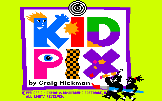 Use the original Kid Pix free on any machine