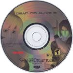 dreamcast dead or alive 2 disc