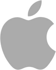 gray-apple-logo
