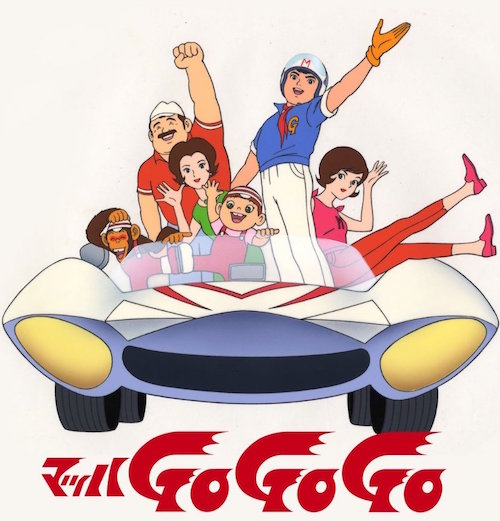 speed racer anime characters